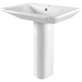 Iflo Kamira Square Basin 650mm X 500mm