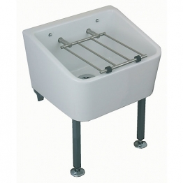 Twyford Fc1034wh Cleaners Sink With Grating & Pad White 465 X 455 X 285mm