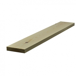 Redwood Planed Timber Standard 32mm X 150mm Finished Size 27mm X 144mm