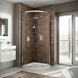 Iflo Alamere Quadrant Shower Enclosure 910 Mm