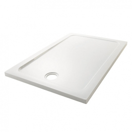 Mira Flight Low 1100 X 800 Low Level (40mm) Tray 0 Ups White 1.1697.013.wh