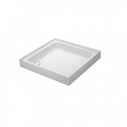 Mira Flight 1.1783.015.wh Shower Tray 4 Upstands And Waste 900x900mm