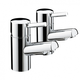 Bristan Prism Basin Taps Chrome Pm1/2c