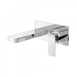 Avesso Wall Mounted Basin Mixer Chrome