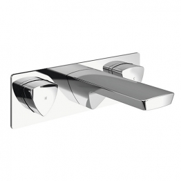 Brianna Wall Mounted Basin Mixer Chrome