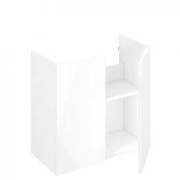 Iflo Aliano Base Unit White 600mm X 250mm