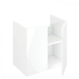 Iflo Aliano Base Unit White 600mm X 380mm