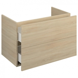 Iflo Aliano Wall Hung Unit Oak Including 2 Drawer 900mm X 480mm