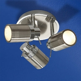 Hib Regal Spot Light 1605 X 160mm Brushed Chrome