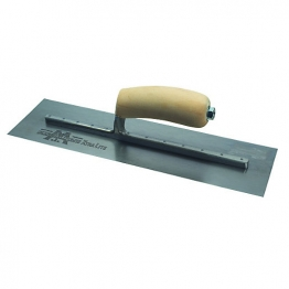 Marshalltown Cement Trowel With Wooden Handle 14 X 4.75in