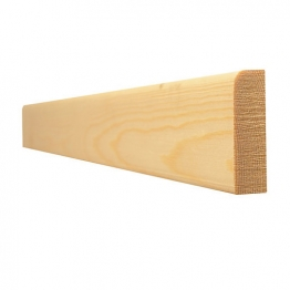 Timber Skirting Pencil Round Standard 19 X 75mm