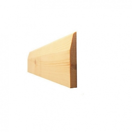 Skirting Chamf & Pencil Round Standard 25mm X 150mm (fin Size 20mm X 144mm)