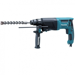 Makita 240v Corded Sds-plus 3 Mode Compact Rotary Hammer Drill One Touch Chuck Hr2630/2