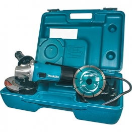 Makita 720w 115mm Slim Angle Grinder Kit Ga4530rkd 110v