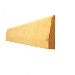 Architrave Chamfered & Rounded Best 19mm X 63mm (fin Size 14.5mm X 57mm)