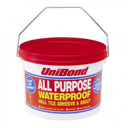 Unibond All Purpose Wall Tile Adhesive/grout Large 5l