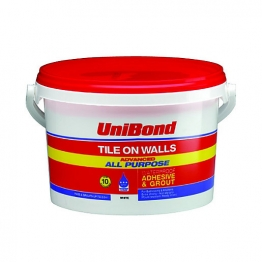 Unibond All Purpose Wall Tile Adhesive/grout Economy 1l
