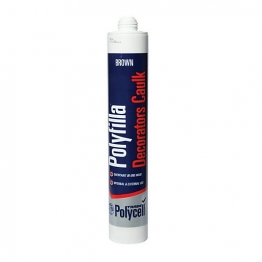 Polycell Polyfilla Decorators Caulk Brown Trade 380ml
