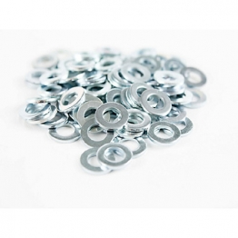 4trade Washer M10x21x2mm Zinc Plated Pk10
