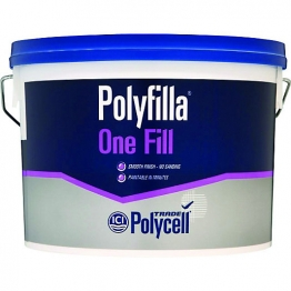 Polycell Polyfilla One Fill Lightweight Filler 4l