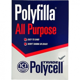 Polycell All Purpose Polyfilla Trade Powder Filler 2kg