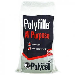 Polycell All Purpose Polyfilla Trade Powder Filler 5kg