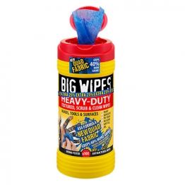Big Wipes 4 X 4 Heavy Duty Wipes Red 80 + Van Bracket