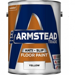 Armstead Trade Anti-slip Floor Paint Yellow 5l