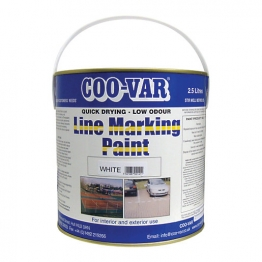 Low Odour Line Mark Paint Yellow 2.5l