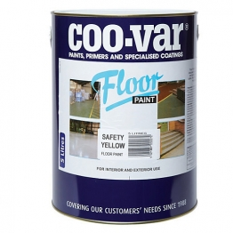 Coo-var Floor Paint Safety Yellow 5l