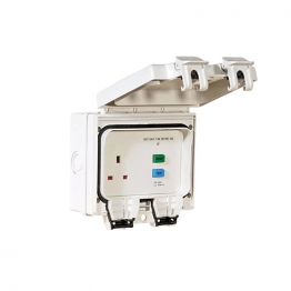 Smj Outdor Ip66 Rcd Protected Sgl Socket