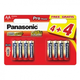 Panasonic Batteries Aa Pack 4 + 4 Free