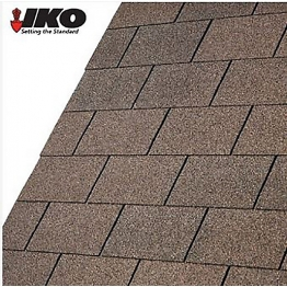 Ruberoid Armourglass Shingles Square Butt Tile (3m2) Dual Brown