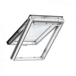 Velux Top Hung Roof Window 550mm X 980mm White Painted Gpl Ck04