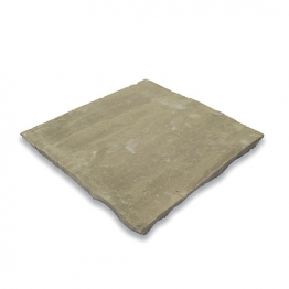Bradstone Natural Sandstone Autumn Green Paving Slab 300mm X 300mm X 22mm