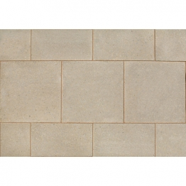 Marshalls Perfecta Fine Ground Natural Chamfered Paving Pack 450mm X 450mm X 35mm