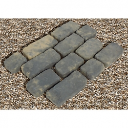 Marshalls Cobblestone Setts Old Yorkstone Paving Pack 600mm X 450mm X 45mm