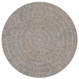 Marshalls Drivesett Tegula Circle Pack 2600mm X 50mm Pennant Grey