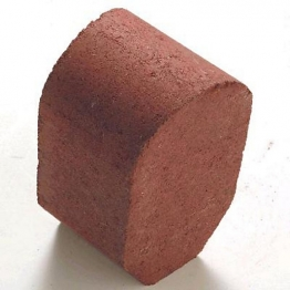 Marshalls Driveline 4 In 1 Radial Kerb 100mm X 100mm X 200mm Red