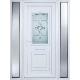 Medway Pre-hung Upvc Door 2085mm X 1520mm Right Hand