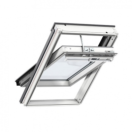 Velux Integra Electric Roof Window 550mm X 980mm White Paint Ggl Ck04