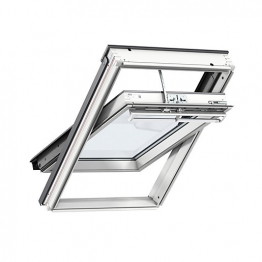 Velux Integra Electric White Painted Centre Pivot Roof Window 780 X 980mm