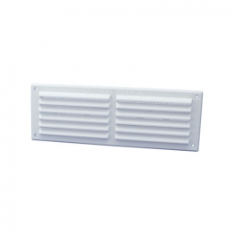 Rytons '9 X 3' Louvre Ventilator With Flyscreen - White