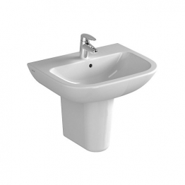 Vitra S20 55cm Washbasin 1tap Hole5502 Basin Only