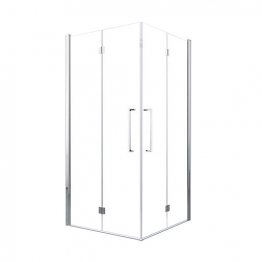 Novellini Y22gs87ls-1k Young 87 89 Bifold Door Lh Excluding Side Panel