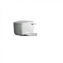 Roca Laura Close Coupled Cistern White And Chrome Lever A341304004