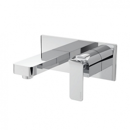 Avesso Wall Mounted Bath Filler Chrome