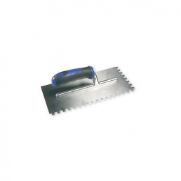 Genesis 902 20mm X 10mm Soft Grip Round Notch Trowel 902