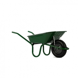 Haemmerlin Green Heavy Duty Wheelbarrow 90l