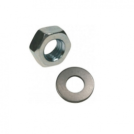 Rawl Nuts & Washers M8 Zinc Plated Pack Of 20